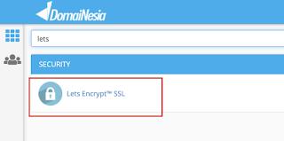 Cara Install Let's Encrypt di Cpanel Hosting secara Gratis