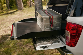 Nissan NP300 Navara (2016) Accessories - Sliding Tray
