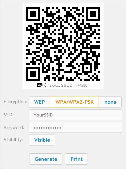 qistoph's blog: WiFi QR-code generator
