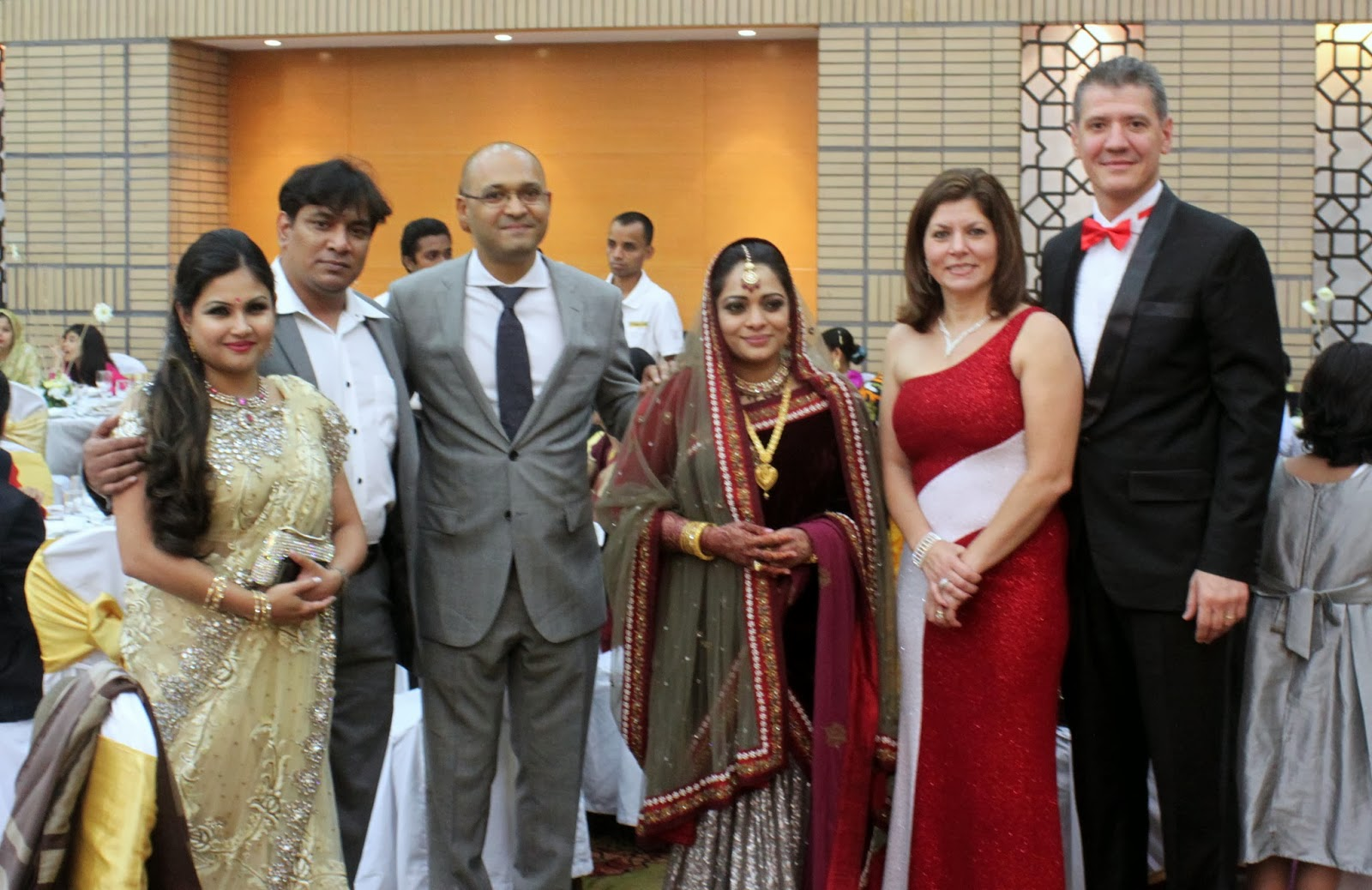 The Americans WILL Come: A Bangladeshi Wedding Reception