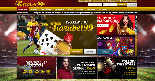 Cara Daftar Akun Di Tiarabet99 Panduan Lengkap Situs Judi Bola Casino Online Terbaik Agen Betting Bola Casino Poker Online Terpercaya