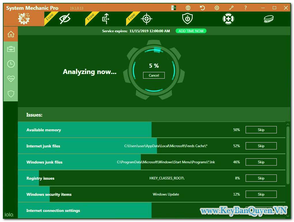 Download và cài đặt System Mechanic Pro 19.1.4.107 Full Key, Siêu ứng dụng sửa lỗi , bảo về và tăng tốc máy tính .