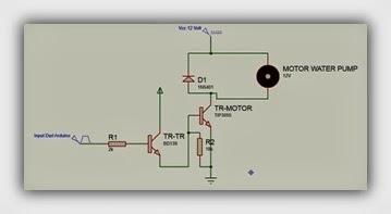 Belajar Arduino Kontrol Kecepatan Motor Pompa Air dengan