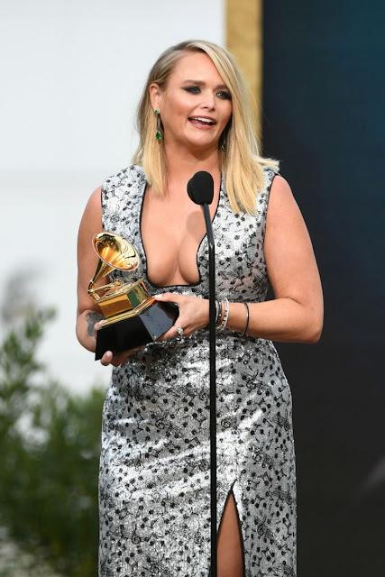 Miranda Lambert at 2021 Grammy Awards in Los Angeles