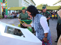"Ketua Persit Daerah XIII/Merdeka Resmikan Taman Bermain Anak ""Jaya Sakti"""