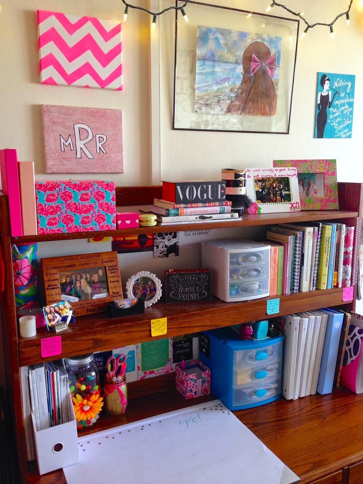 My Colorful Freshman Dorm | Bowtiful Life