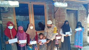 Brigadir Agus Salim, Santuni Zakat Mal Bagi 40 Anak Yatim