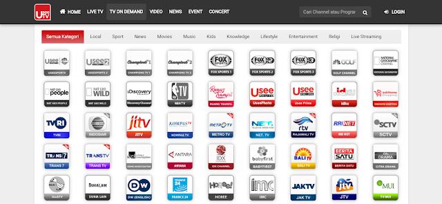 Pilih Stasiun TV