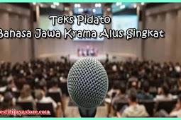 Teks Pidato Bahasa Jawa Krama Alus Singkat (Lengkap dalam Berbagai Acara)