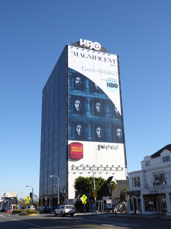 Giant Game of Thrones Magnificent Fyc billboard