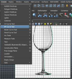 Menu bar, EP Curve tool animation stuff