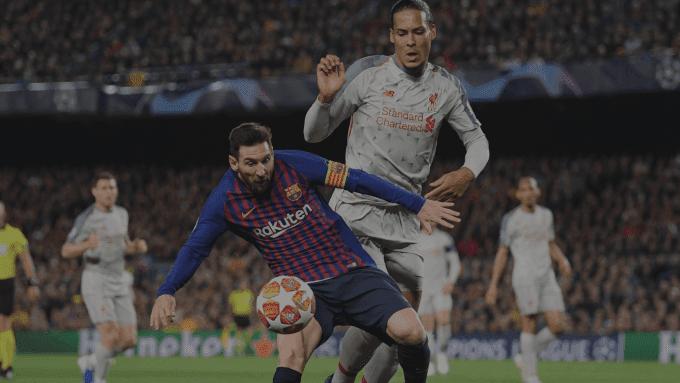 Idnfotbal - Lumbung Goal Lionel Messi ke Gawang Liverpool
