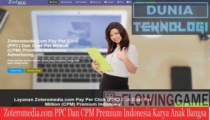 Zoteromediacom Ppc Dan Cpm Terbaik Indonesia Alternatif Google