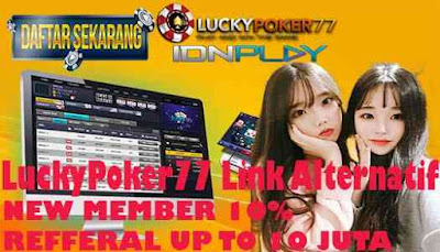 LuckyPoker77 Link Alternatif