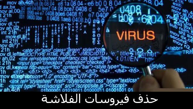 افضل طرق لحذف فيروسات الفلاشة