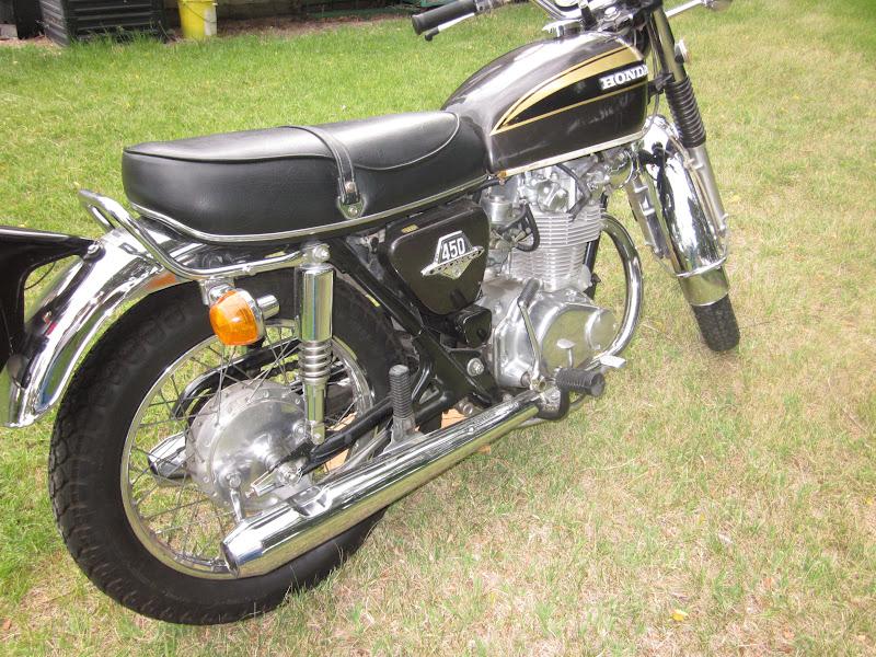Sold My 1973 Honda CB450