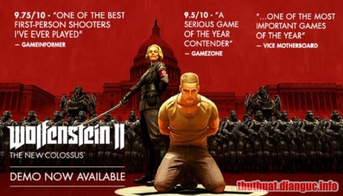 Download Game Wolfenstein II: The New Colossus Full Crack