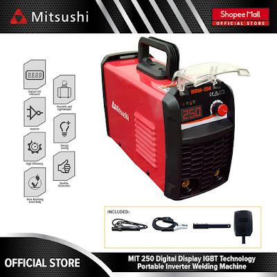 Mitsushi MIT-250 IGBT Technology Digital Display Inverter Welding Machine