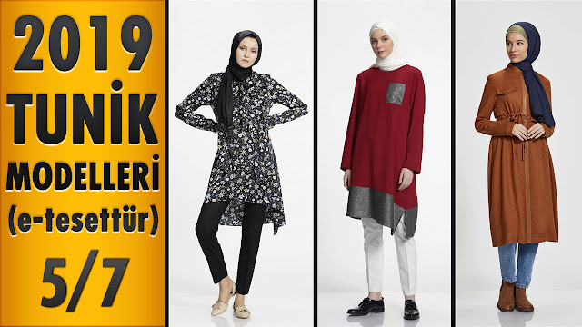 7e1908bf03c34 2019 Tunik Modelleri (e-tesettür) 5/7 | 2019 Tunic Models - Modanzi ...