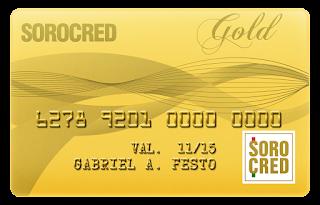 cartão sorocred gold