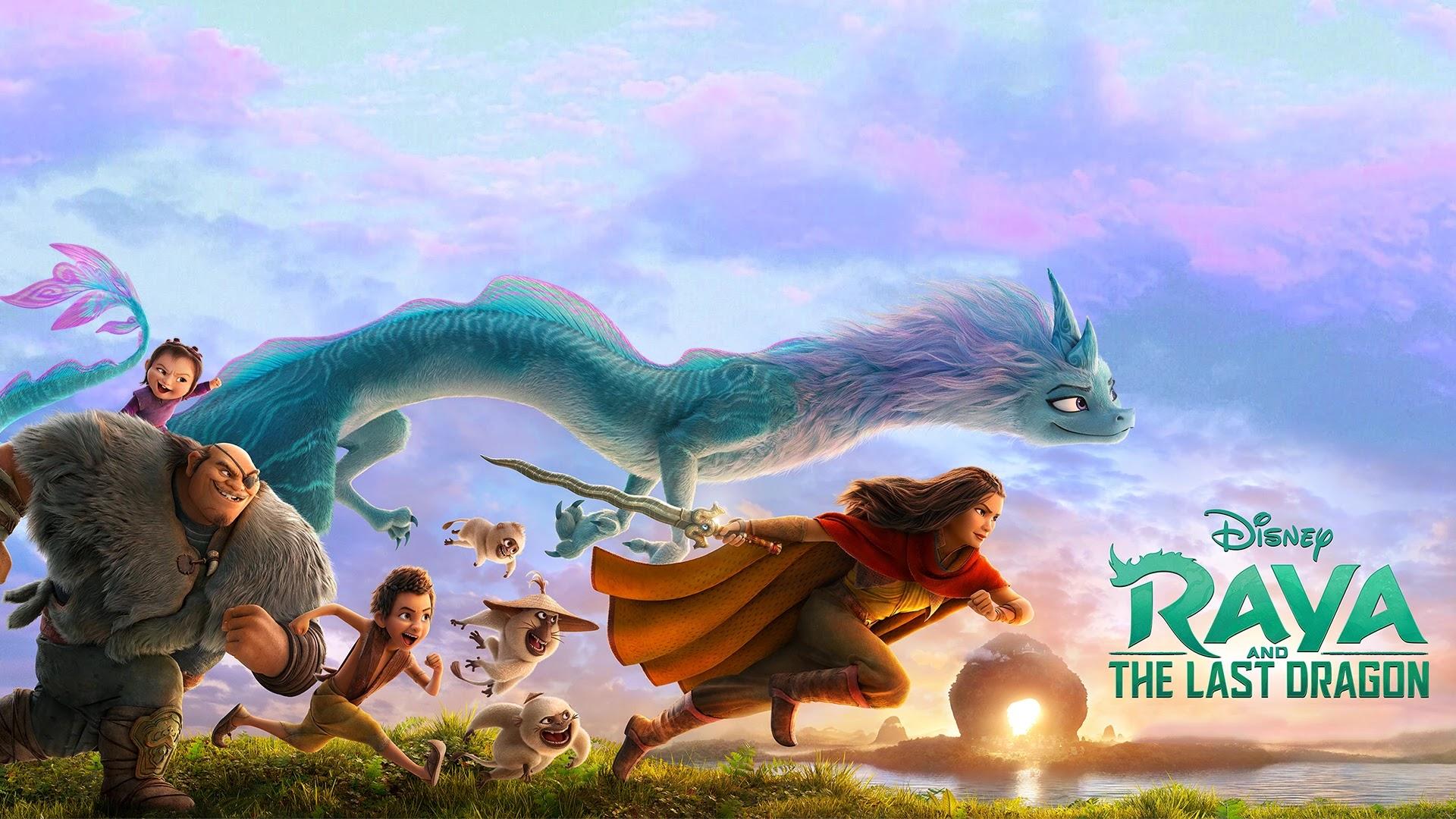 Raya and the Last Dragon Wallpaper