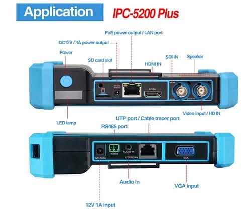 Rsrteng 4K HD Display IP Camera Tester