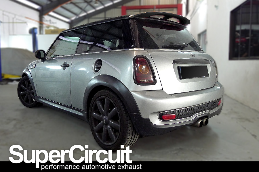 SUPERCIRCUIT Exhaust Pro Shop: Mini Cooper S R56 Downpipe