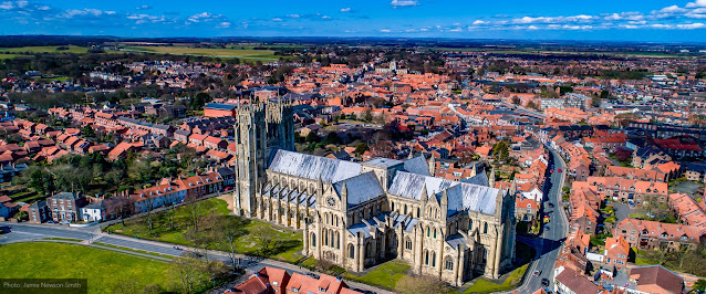 Beverly and the Minster (photo courtesy of Beverley Minster website)