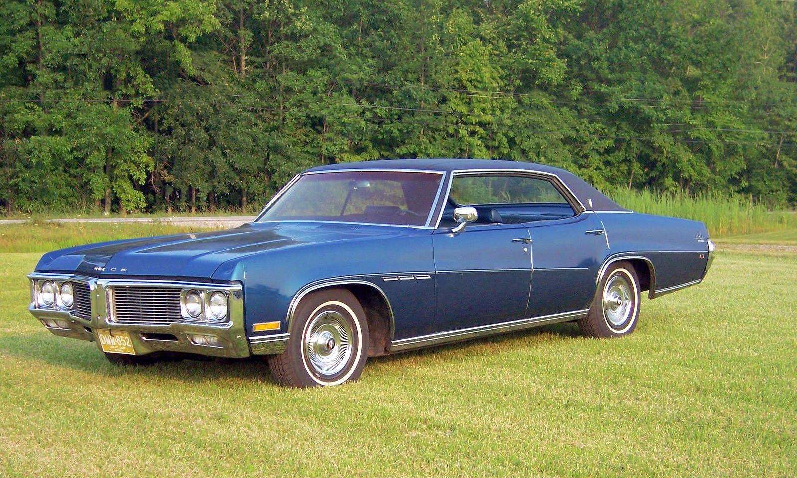 transpress nz: 1970 Buick LeSabre 4-door hardtop