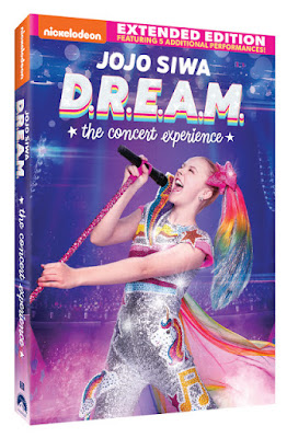 JoJo Siwa D.R.E.A.M the Concert Experience DVD