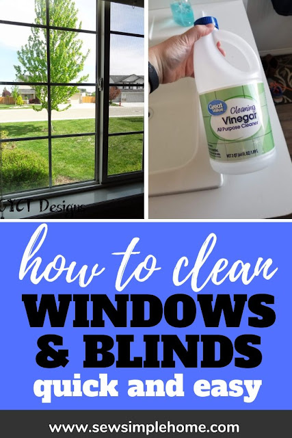 Learn how to clean blinds fast with the help of cleaning vinegar and elbow grease.