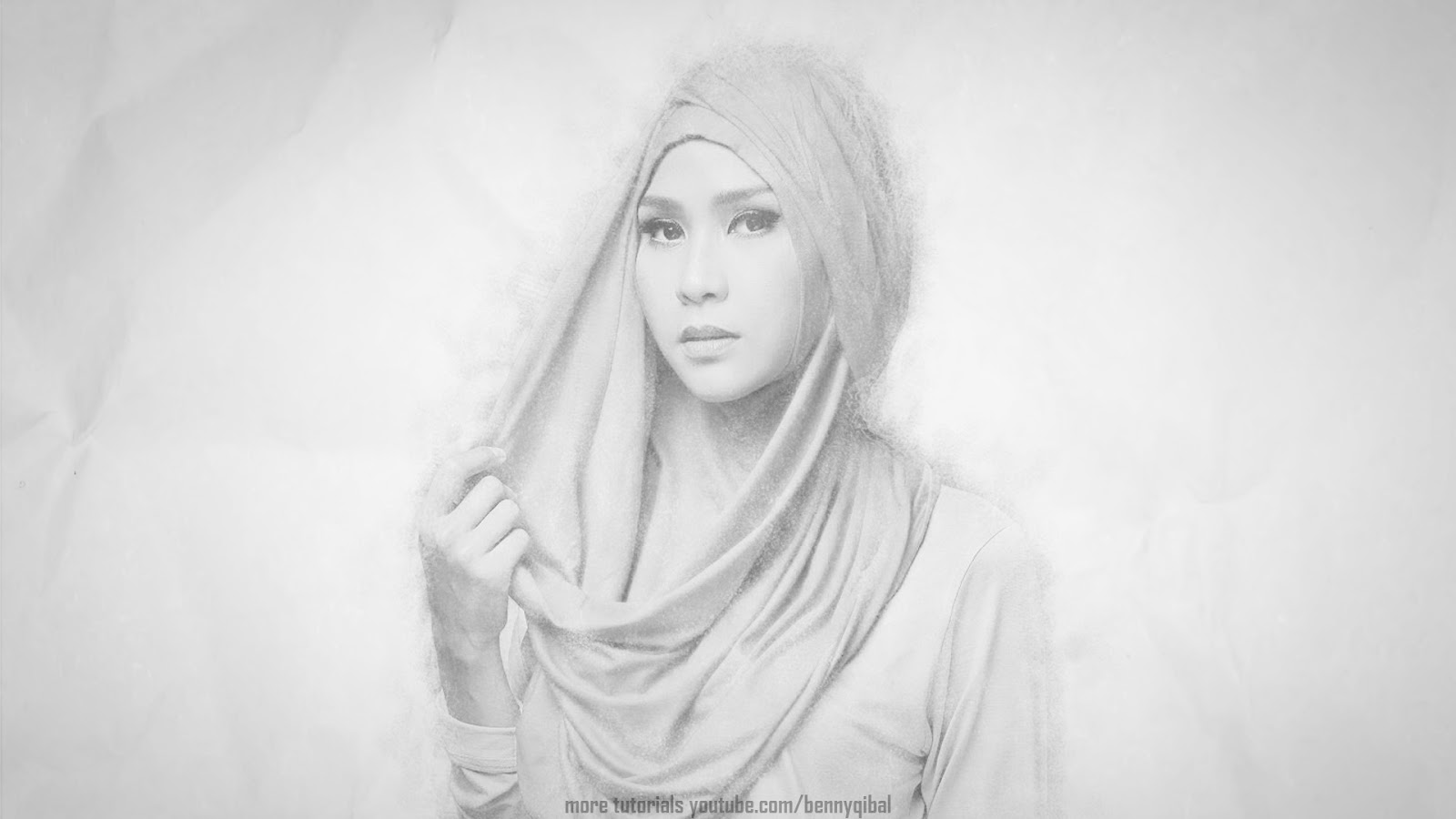 Photoshop pencil sketch effect tutorial
