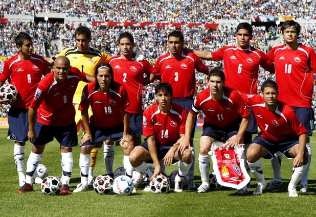 Formación de Chile ante Uruguay, Clasificatorias Sudáfrica 2010, 18 de noviembre de 2007