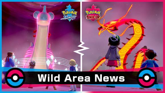 Pokémon Sword e Shield Evento Wild Area