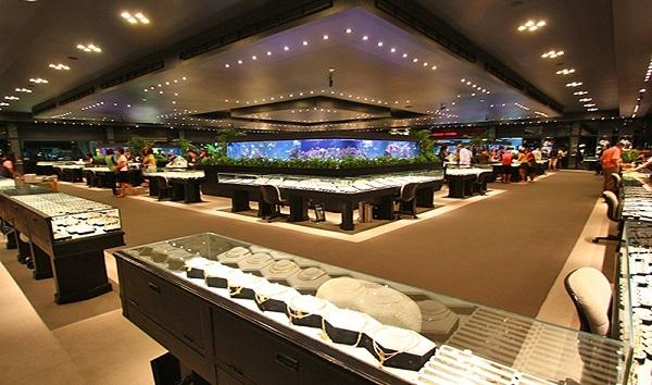 xưởng chế tác đá quý Thái Lan