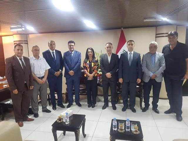 تفعيل مادتي التربية الرياضية والتربية الفنية في جميع مدارس العراق.