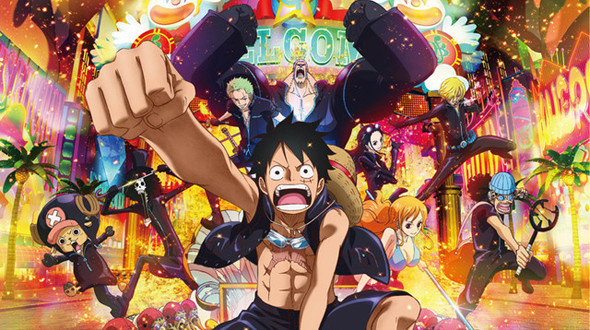 One Piece Filme: Gold Torrent - BluRay Rip 720p Legendando (2016)
