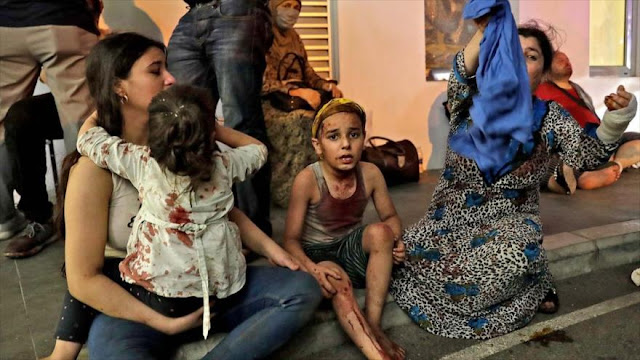 Unicef: Explosión ha desplazado a 80 000 niños en Beirut