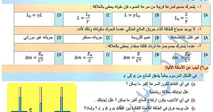 كتاب الفيزياء للصف الثالث الثانوي بكالوريا 2020 سوريا