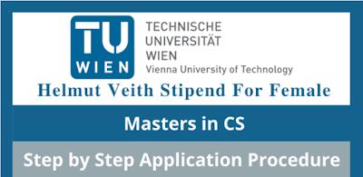 """منحة هيلموت فيث ستيبند """"Helmut Veith Stipend"""" للإناث في علوم الكمبيوتر 2022 في النمسا"""