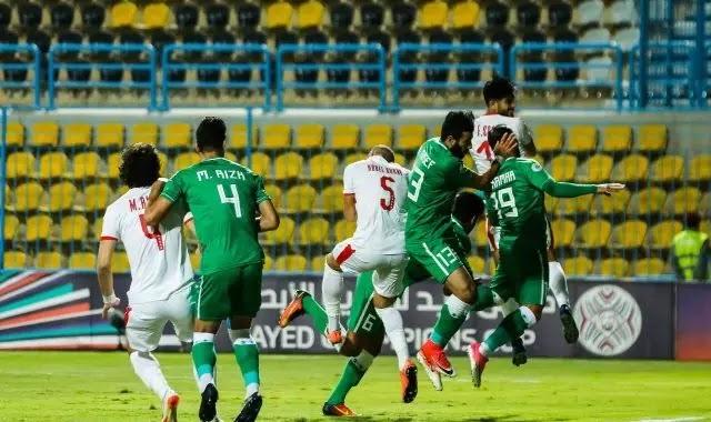 مباراة الزمالك والاتحاد السكندري الدوري المصري الممتاز