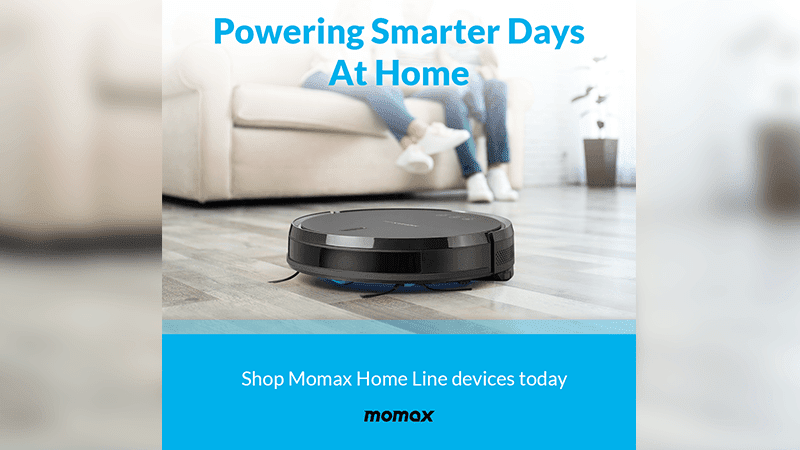 MOMAX Home Line devices now available via Digital Walker—includes Air Purifier, Vacuum Robot, and more