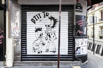 Sunday Street Art : Natasha Kikx - rue Joseph Dijon - Paris 18
