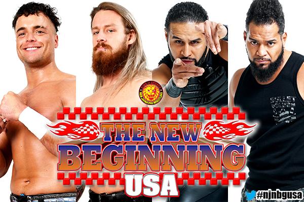 Novos campeões são coroados no NJPW The New Beginning in USA