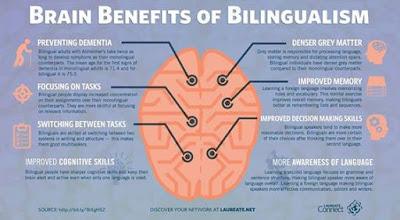 學習雙語言的好處