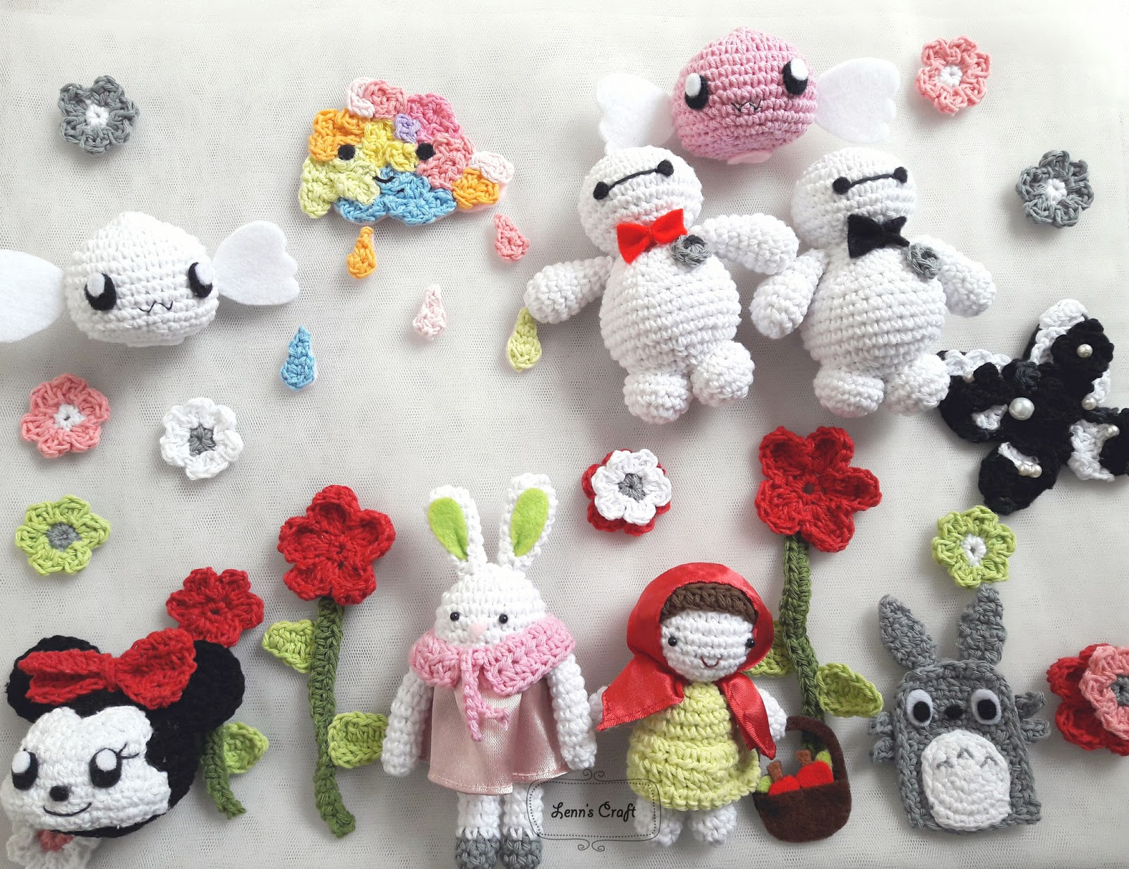 Amigurumi Boneka : Lenn s craft handmade doll amigurumi amigurumi a k a