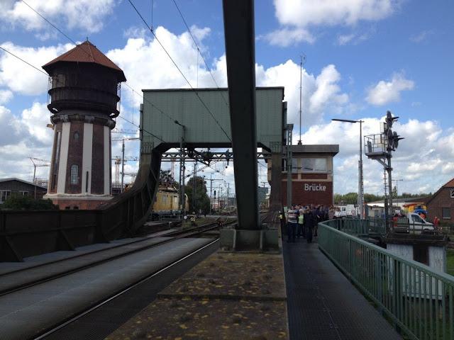 De spoorbrug tijdens de Open Monumentendag