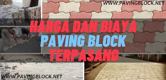 Informasi Harga Paving Block Terpasang di Bandung Dan Desain Model Susunan Conblock