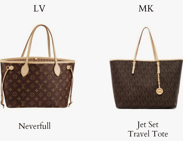 d6f54a6616bf MICHAEL Michael Kors Handbags vs. Louis Vuitton Handbags - ♕ My ...