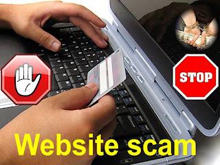 Жульничество веб-сайта